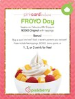Pinkberry Celebrates National Frozen Yogurt Day with BOGO Deal and Chance to Win Three Free Swirls