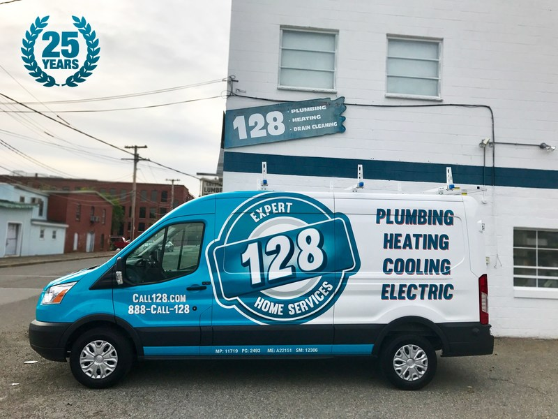 128 Plumbing, Heating, Cooling & Electric is celebrating 25 years of serving the greater Boston area.