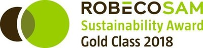 RobecoSAM Sustainability Award Gold Class 2018 (Groupe CNW/Sodexo Canada)