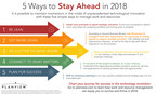 5 simple ways for enterprises to stay ahead in 2018
