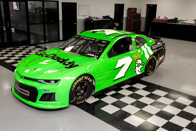 No. 7 GoDaddy Chevy