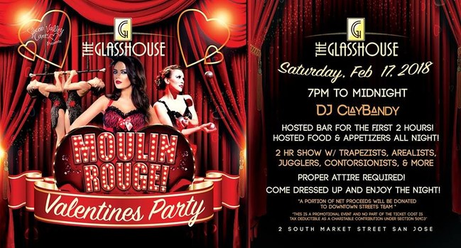 Moulin Rouge at The Glasshouse (408) 606-8148