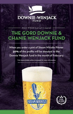 The Gord Downie & Chanie Wenjack Fund and Steam Whistle Brewing Poster (CNW Group/Steam Whistle Brewing)
