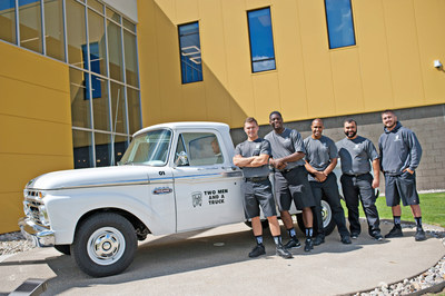 TWO MEN AND A TRUCK is the fastest-growing franchised moving company in the country and offers comprehensive home and business relocation and packing services. The company's goal is to exceed customers' expectations by customizing its moving services to fit specific needs.