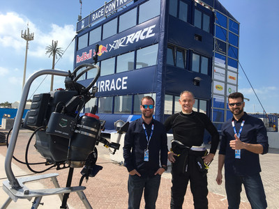 Team JetPack Aviation prepares for world's first JetPack flight at the Red Bull Air Race in Abu Dhabi