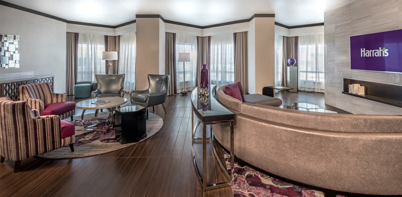 Harrah's Las Vegas Completes $140 Million Renovation of the Valley Tower, Including the New Presidential Suite
