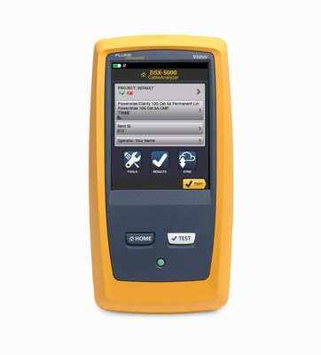 Fluke Networks Versiv Cabling Certification System Adds Support for Legrand Clarity' and Superior Essex PowerWise' PoE products