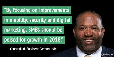 Vernon Irvin, President of Local Government, Medium and Small Business Markets (LGMS) for CenturyLink
