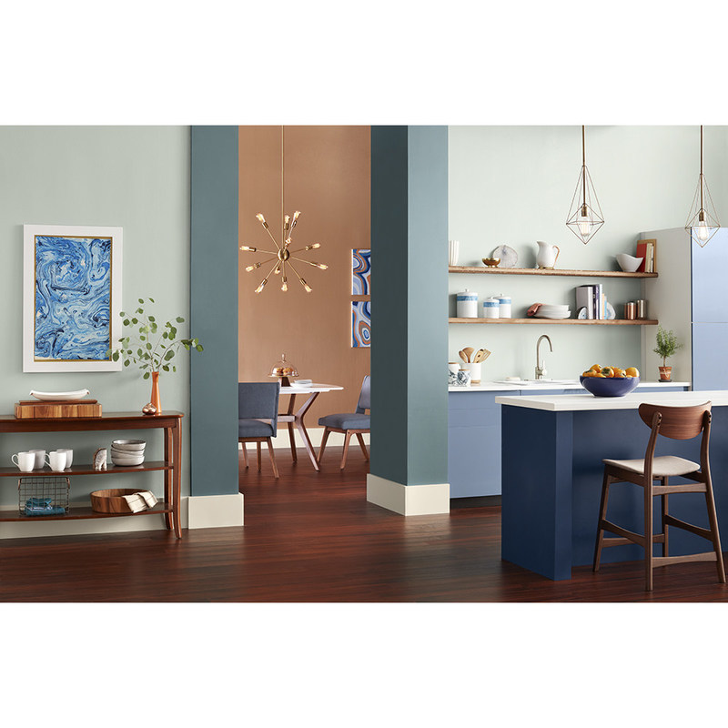 hgtv home by sherwin williams reveals its color collections of the year. Black Bedroom Furniture Sets. Home Design Ideas