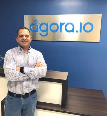 Regev Yativ in Agora Offices in Santa Clara