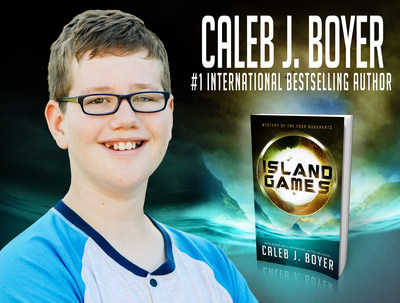 Island Games, written by twelve-year-old #1 International Bestselling author Caleb Boyer.