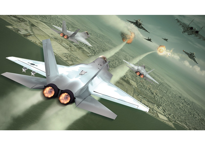 UTC Aerospace Systems will provide several key components for Korea Aerospace Industries (KAI) KF-X advanced multirole fighter jet. Photo Credit: KAI