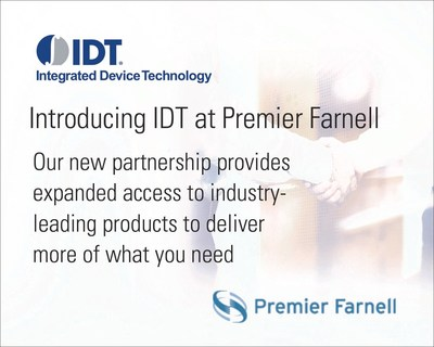 Introducing IDT at Premier Farnell