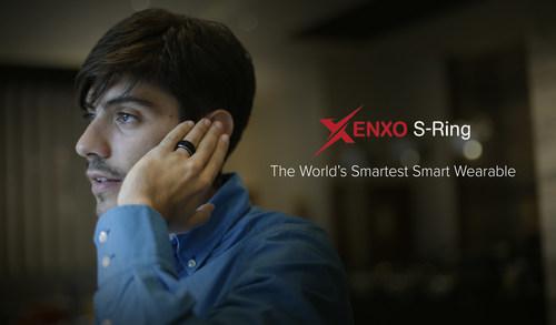 Xenxo S-Ring: The World's Smartest Smart Wearable (PRNewsfoto/Xenxo)