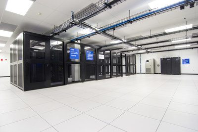 Online Tech's state-of-the-art cloud infrastructure inside their downtown Indianapolis data center.