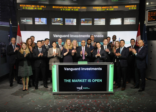 Vanguard Investments Canada Opens the Market (CNW Group/TMX Group Limited)