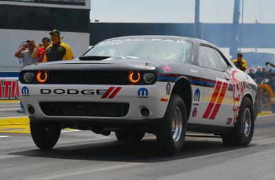 NHRA Top Fuel Star Pritchett to Drive Mopar Dodge Challenger