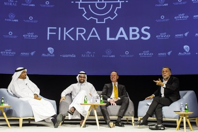 Representatives at the Fikra Labs Acceleration Programme launch event (PRNewsfoto/Dept. of Culture Abu Dhabi)