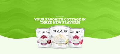 Muuna introduces Black Cherry, Vanilla & Raspberry cottage cheese