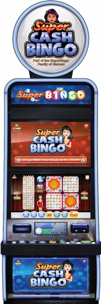 Gaming Arts New Super Cash Bingo Game