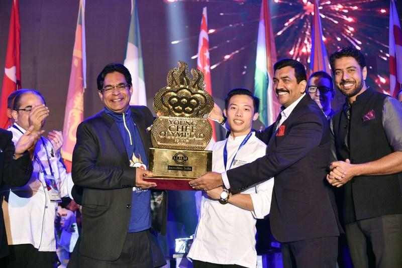 Worlds Biggest Culinary heats 4th International Young Chef Olympiad 2018 (PRNewsfoto/IIHM)