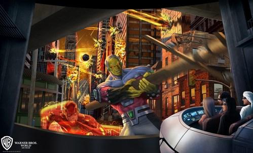 Justice League: Warworld Attacks (PRNewsfoto/Warner Bros. World)