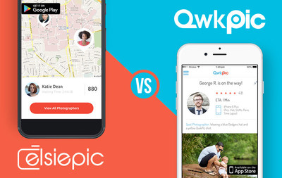 ElsiePic vs QwkPic. Battle for the $5 On-Demand Photoshoot Heats Up