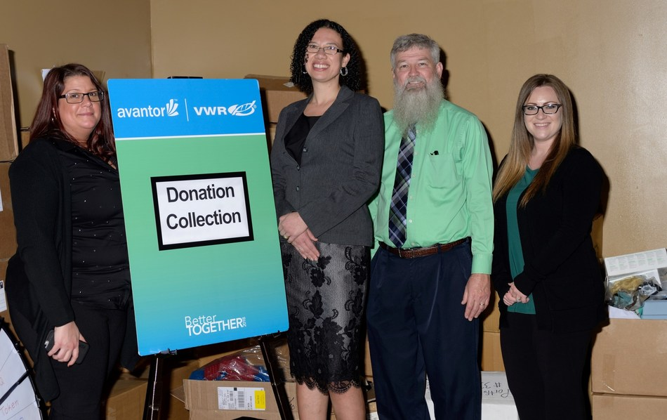 VWR, part of Avantor, and its suppliers proudly donate products to Hillsborough County Public Schools in support of their science education programs.