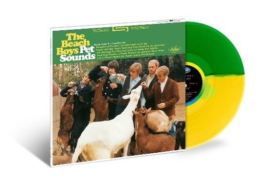 This week, The Beach Boys' acclaimed 1966 album, 'Pet Sounds,' will be released in a limited colored vinyl LP edition by Capitol/UMe. Limited to 2000 copies worldwide and available exclusively from The Sound of Vinyl (https://thesoundofvinyl.us), the collectible special edition presents the classic album's stereo mix on a 130-gram LP pressed on split translucent yellow and green vinyl.