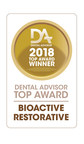 Pulpdent Receives 2018 Dental Advisor Award for ACTIVA BioACTIVE-RESTORATIVE