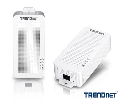 TRENDnet's Powerline 200 AV PoE+ Adapters, models TPL-331EP and TPL-331EP2K