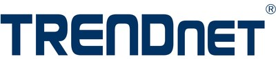 TRENDnet company logo, networking and surveillance solutions (PRNewsfoto/TRENDnet)