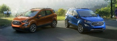 Holiday Ford recently received its first Ford EcoSport models, with more to come soon.