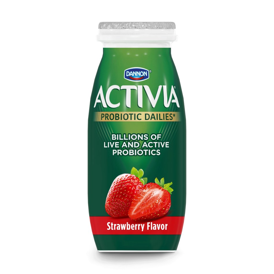 The new Activia Dailies are offered in a range of five flavors including strawberry, blueberry, cherry and vanilla (available in grocery and club stores), and acai berry (available in club stores only).