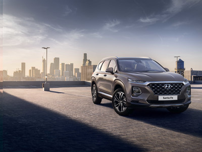 SEOUL, Feb. 6, 2018 - Hyundai Motor unveils its first images of the New Generation Santa Fe which will celebrate its world premiere in February 2018. The company's largest passenger car, it represents Hyundai's strong SUV heritage and continues its global success story. The fourth generation Santa Fe is a powerful, premium-designed SUV with class-leading roominess.