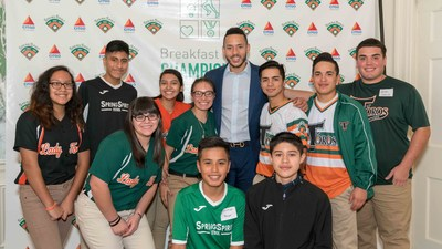Spring Branch youth spent the morning with their home-run hero, Carlos Correa.