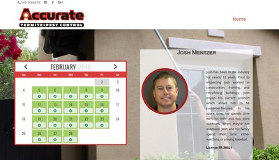Accurate Termite and Pest Control Releases TermitePro.us, an Interactive Scheduling Tool for Customers