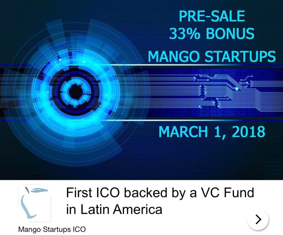 Mango Startups Fuses Venture Capitalism And ICOs