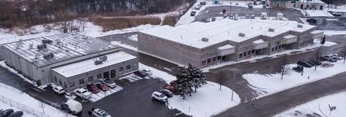 Aerial image of AB Laboratories, Jan. 16, 2018. (CNW Group/Invictus MD Strategies)