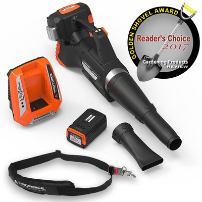 YARD FORCE YF120vRX Lithium-Ion Leaf Blower
