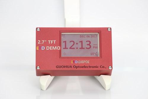 Digital Watch E-paper Display of South China Normal University, Shenzhen Guohua Optoelectronics Tech. Co. Ltd. & GR8.