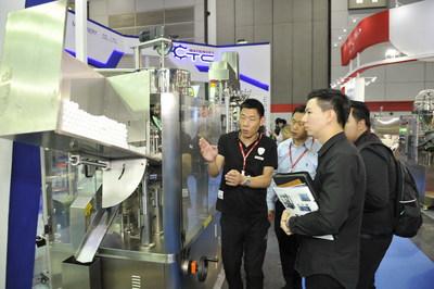Live Filing Machine Demos at ProPak Asia Thailand (PRNewsfoto/UBM BES)