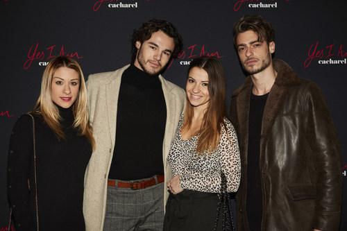 Yes I Am Party – Jade Geropp & Anthony Colette & Denitsa Ikonomova & Ariel Doukhan (PRNewsfoto/Cacharel)
