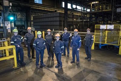 Employés d'Alcoa Aluminerie de Deschambault (Groupe CNW/Alcoa Canada)