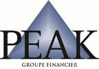 Logo : PEAK Groupe Financier (Groupe CNW/Groupe financier PEAK)