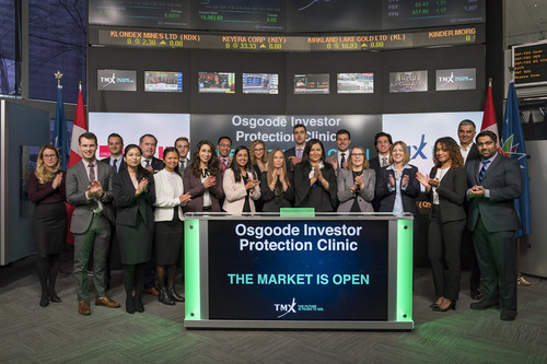 Osgoode Investor Protection Clinic Opens the Market (CNW Group/TMX Group Limited)