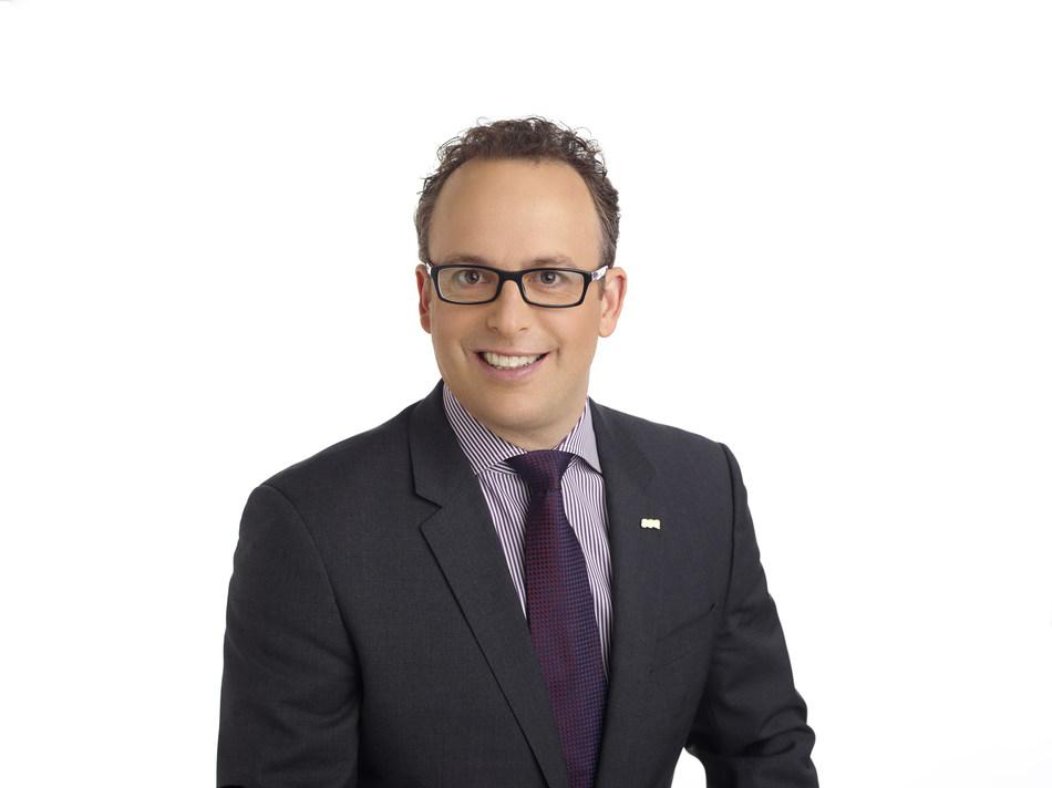 Jean-François Chalifoux, CEO of SSQ Insurance (CNW Group/SSQ Insurance)