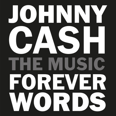 Johnny Cash Forever Words CD Cover Artwork