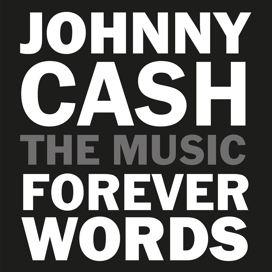 Johnny Cash Forever Words CD Cover Artwork
