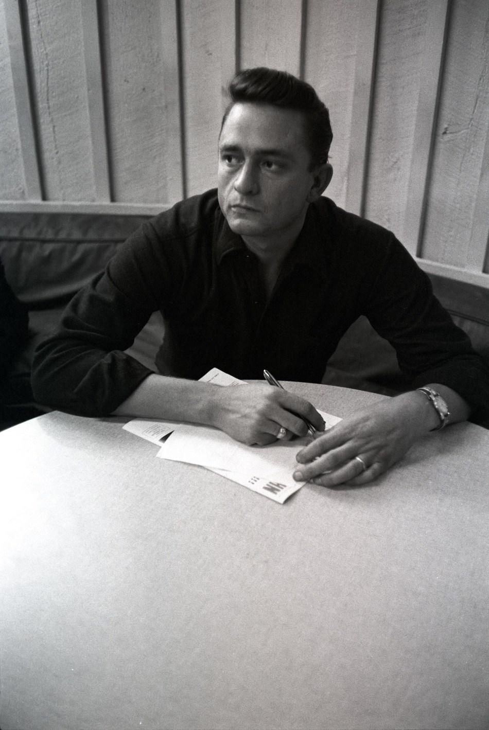 Johnny Cash Photo Credit: Don Hunstein Sony Music